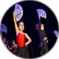 Scuola di flamenco per bambini per ragazze e ragazzi a Madrid.