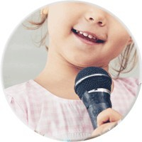 Children's singing